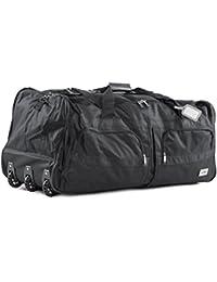 Bolsa de deporte, bolsa de viaje con mango telescópico extensible, bolsa de viaje