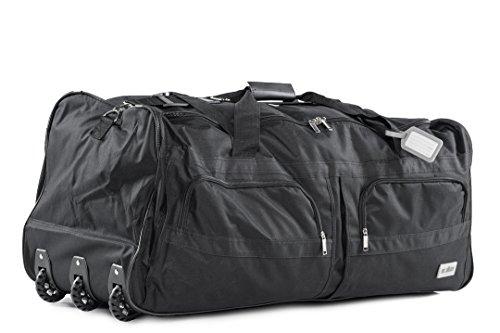 Sporttasche Reisetasche mit ausziehbarem Teleskop Griff Sport Reise Tasche Bag (XXL 140 Liter)