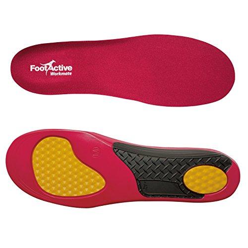 FootActive WORKMATE- Soporte del puente y amortiguación para el pie excelentes para personas que pasan todo el día de pie M (42-44)
