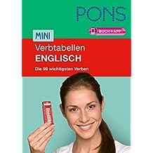 PONS Mini-Verbtabellen Englisch: Die 99 wichtigsten Verben