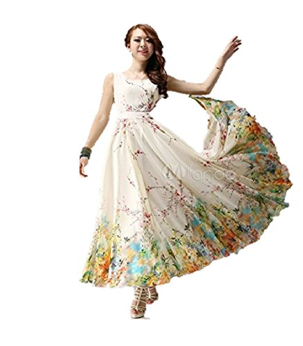 Jil Creation Women\'s Princess Crepe Chiffon Floral Printed Party Wear Prom Dress Long Gown For Girls | Indo-western latest Collection Readymade | New Style Evening Party Dress | Western One Piece Sui
