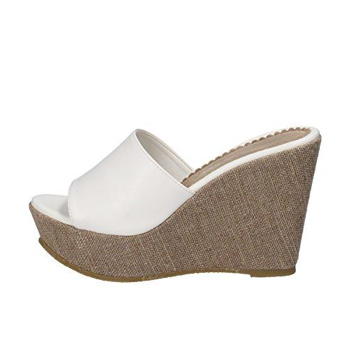 DAVID HARON sandali donna bianco pelle AE32 (38 EU)