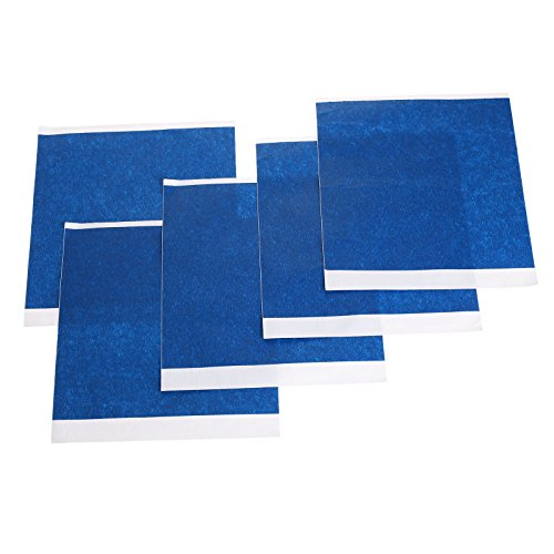 Price comparison product image 5pcs 200mm x 210mm 3D Printer Heated Bed Blue High Temperature Tape Rubber Adhesive