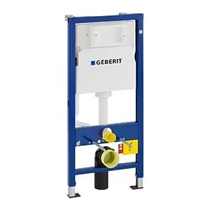 Geberit 458103001 Duofix Basic – Bastidor para montaje a pared de inodoro con cisterna UP100 (112 cm)