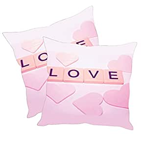 Sleep Nature's Cushion Covers Set of 2 (16x16 inch)