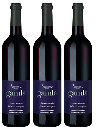 Golan Heights Winery Gamla Cabernet Sauvignon 2015  (3 x 0.75 l)