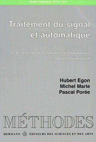Traitement du signal et automatique, vol. 2 (Méthodes) par Hubert Egon