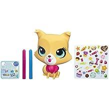 Littlest Pet Shop Deco - Gato - Mascota de juguete personalizable 15 cm.