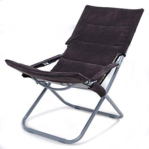 GXYGWJ Multifunktionsklappstuhl Recliner Familie Wohnzimmer Balkon Lounge Sessel Sonne Lounge Büro Nickerchen Stuhl Klappstuhl (Farbe : B) | Garten > Balkon > Balkonstühle | GXYGWJ