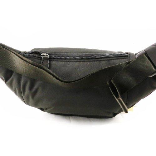 Fanny pack 'Lafayette' dark brown.