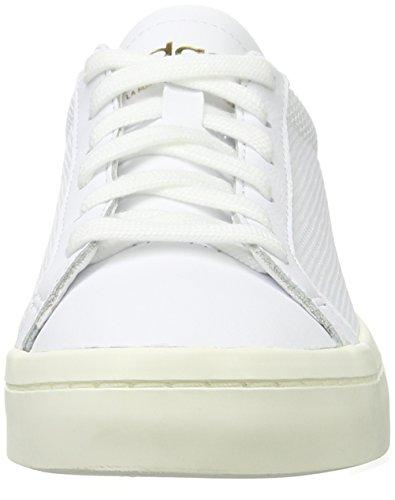 Adidas Court Vantage, Unisexe Basse-unisexe-adulto Bianco (chaussures Blanc / Chaussures Blanc / Collégiale Marine)
