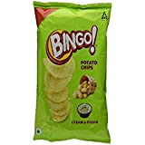 Bingo Potato Chips Cream & Onion, 52g