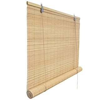 VICTORIA M Store en bambou pour usage à l'intérieur 150 x 220 cm nature