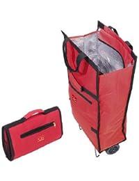 Jata Bolsa Trolley con Asa de Transporte y Ruedas Plegables Extra  Resistentes 9208e55e49d62