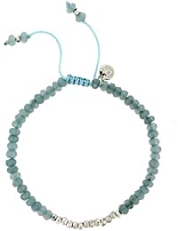 Lola Rose Women Blue Coral Quartz Strand Bracelet of Length 18cm 693257 byhMWBE