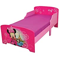 FUN HOUSE 712861 Disney Minnie Paris Letto per Bambini 140 x 70 cm con doghe