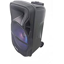 ALTAVOZ PORTATIL TROLLEY 60W BLUETOOTH,KARAOKE,CON MICROFONO,RADIO,USB RX-1020