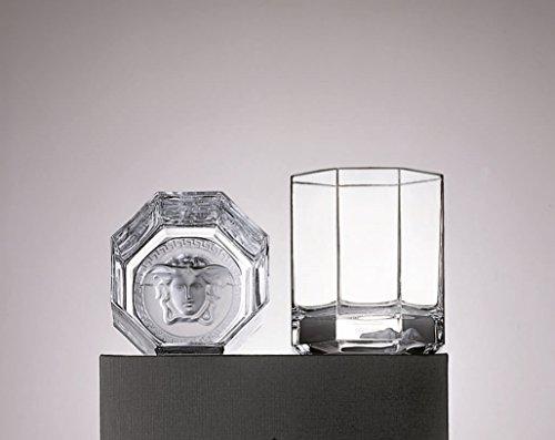 Rosenthal Meets Versace - Versace Medusa Lumiere - Whiskybecher - Glas - 0,17 l - 2 er Set