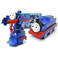 Hobnot Transformation Thomas Train into Robot Battery Operated Toy with Railway Tracks