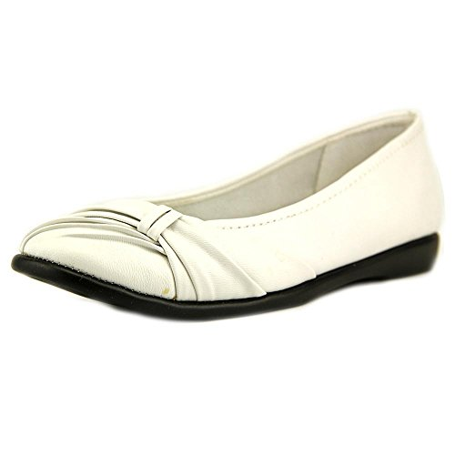 Easy Street Giddy Large Synthétique Chaussure Plate white