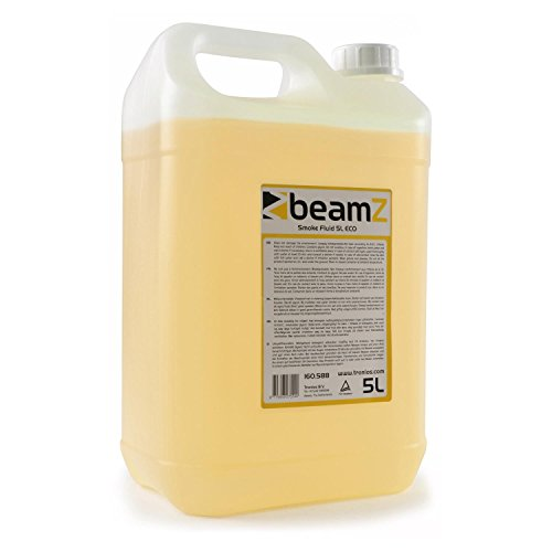 Nebelflüssigkeit • 5 Liter • CO2-Effekt • mitteldichter Nebel • schnelle Dispersion • ECO • geruchsneutral • biologisch abbaubar • geeignet für alle beamZ Nebelmaschinen • orange (Nebel Maschine Pumpe)