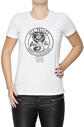 41U2c3xkXSL - Camiseta de color blanco con logo en negro
