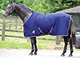 Masta Avante Fleece - Material para dirigir al caballo, color Azul, talla 152,4 cm