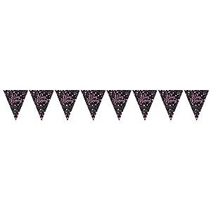 Amscan International-99011844m celebración Prismatic banderín Banner