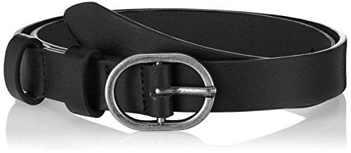 PIECES Pcdarcia Jeans Belt, Cinturón para Mujer, Negro Black, 110 (Talla del Fabricante 95|#6651)