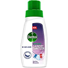 Dettol After Detergent Wash LiquidLaundrySanitizer, Spring Blossom - 480ml