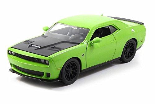 2015-dodge-challenger-srt-hellcat-green-jada-toys-97600-1-24-scale-diecast-model-toy-car-by-jada