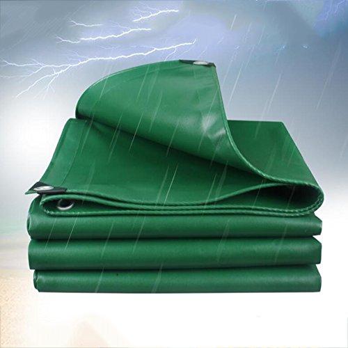 Garten / Gartenarbeit / GAbdeckplanen Brisk- Regen Tuch Sonnenschutz Dicke Plane Zelt Wasserdichte Tuch Auto Linoleum Carport Rolle Tuch 520g (0,4mm) (größe : Green -3x4m)