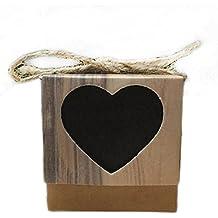 Amazon cajitas de madera para regalar boda