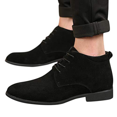 ABsoar Mode Oxfords Schuhe Herren Freizeit Business-Lederschuhe Männer Casual HighTop Boot Plus Velvet Schuhe Flache Schuhe Avenue Boot