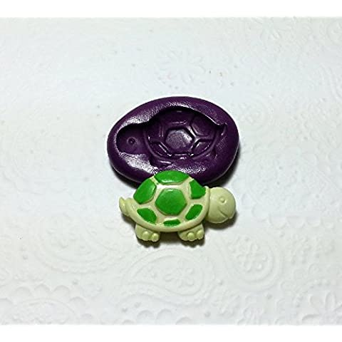 Silicone Mold Turtle Tortoise Mould (31mm) Cake Decoration Chocolate Candy Clay by Simply Molds