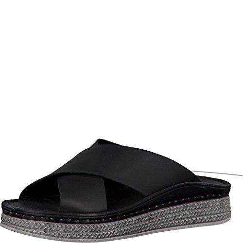 Tamaris Schuhe 1-1-27207-28 Bequeme Damen Pantolette, Sandalen, Sommerschuhe für modebewusste Frau,