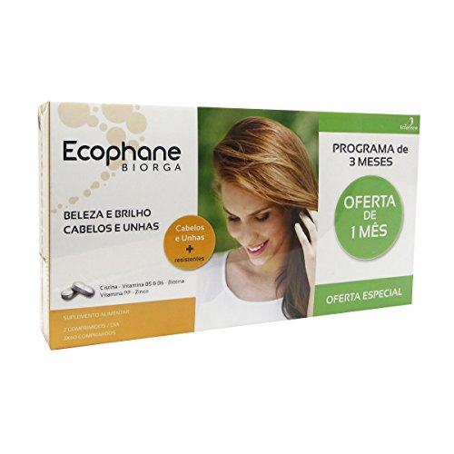Ecophane Haare Und Nägel Pack 3x60caps - Na Pack