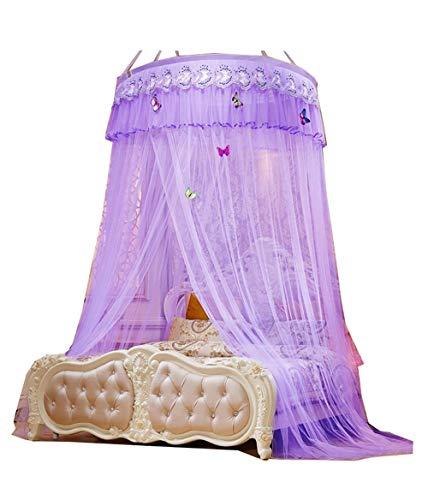 BettmatratzeZelt Hängende Kuppel Moskitonetz Verschlüsselung Höhe Decke Spitze Gericht Boden Moskitonetz Butterfly Dance