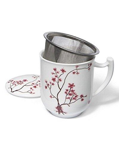 TeaLogic Kräuterteetasse & Filter Bone China
