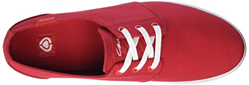C1RCA Crip, Sneakers basses mixte adulte Rouge