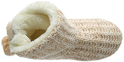 New Look Damen Narie Hausschuhe Beige (oatmeal/14)
