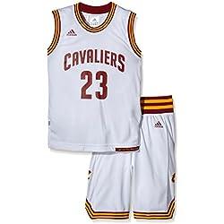 adidas - Conjunto de niños Cleveland Cavaliers Adidas