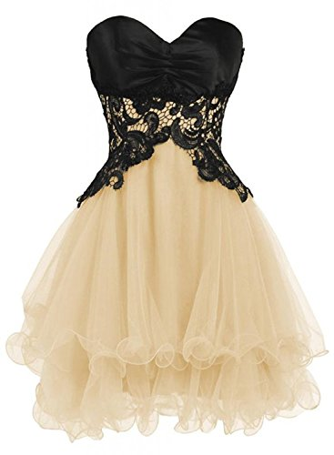 Azbro Sweetheart Bridesmaid Short Prom Homecoming Party Dresses For Juniors red