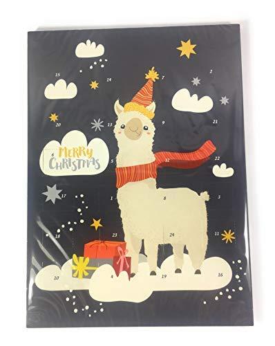 Adventskalender Schokolade Kinder Lama Weihnachtenskalender Weihnachten 75g
