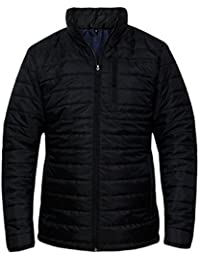 CANDY FLOSS NEW MENS PUFFER QUILTED BUBBLE PUFFA WARM THICK ZIP PADDED COAT JACKET TOP S-XL