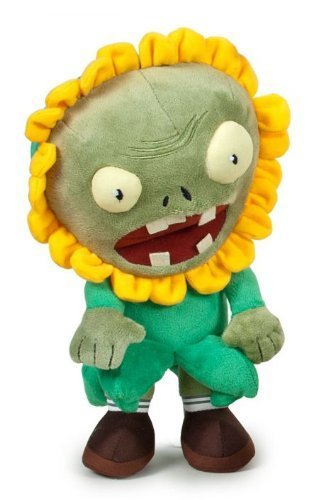 Zombie Sunflower Disgise 10'' Original Plush Toy Plants Vs Zombies Videogame Soft Doll High Quality
