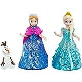 Mattel CJV52 - Disney Princess Frozen - Die Eiskönigin, Konstruktionsspielzeug