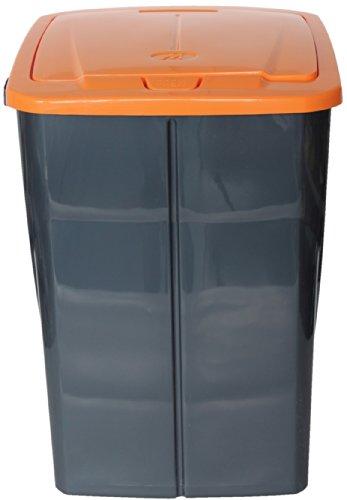 Mondex Müllsortierer 45 Liter mit orangenem Deckel