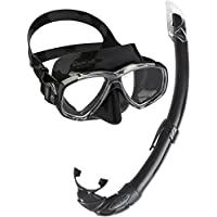 Cressi Perla Mare - Premium Scuba Mask Snorkel Set Adult, Made in Italy - Cressi: Diving Equipment Since 1946