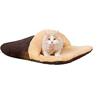 Bwiv Pet Sacco a Pelo del Gatto Antiscivolo Cuscino Tunnel Letto dell'animale Domestico Inverno Estate Morbida Resting Place A